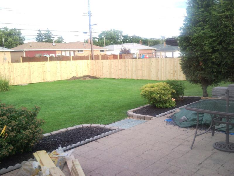 Nice Landscape Rectangular Backyard 14 Looks Inspiration Article